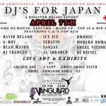 04-07-11 DJ's For Japan Vanguard Hollywood