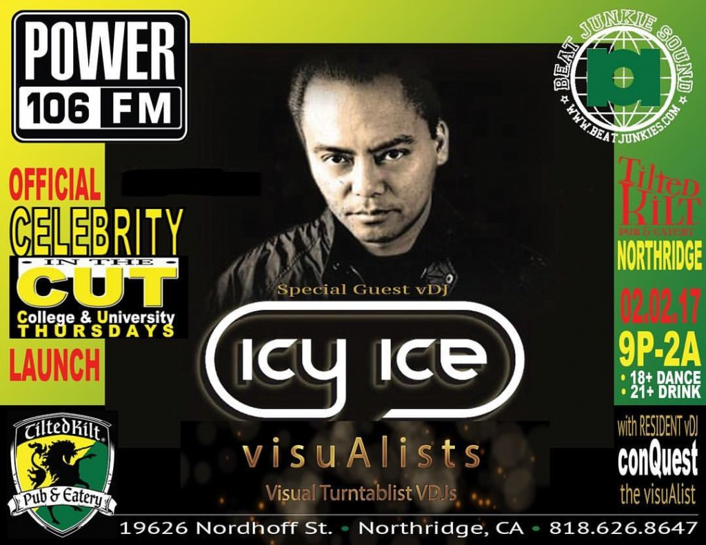 Tilted Kilt Northridge - DJ Icy Ice