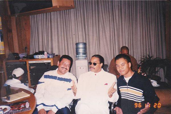Frank V & Roger Troutman of Zapp